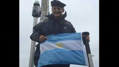 Ella es la primera mujer oficial del submarino argentino desaparecido en el Atlántico Sur