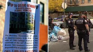 Recién nacidos encontrados muertos en El Bronx fueron asesinados