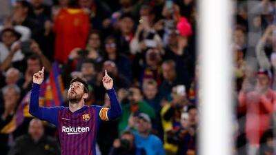 """Messi: """"Hicimos un fútbol espectacular"""""""