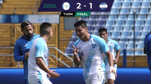 Guatemala derrota a una diezmada Honduras en amistoso