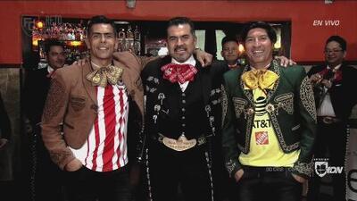 El Reto Central: Oswaldo Sánchez y 'Bam Bam' se atrevieron a demostrar quién es mejor mariachi