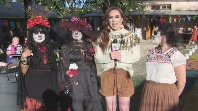 Celebración del día de muertos en San Antonio