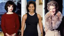 Jackie Kennedy fue un ícono de la moda en la Casa Blanca, ¿quién más marcó tendencia con sus looks?