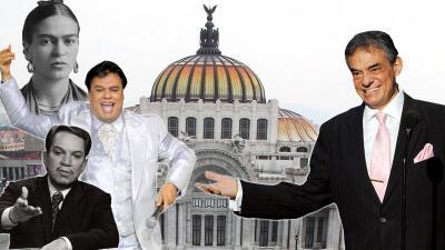 EN FOTOS: José José y otros artistas que recibieron homenaje póstumo en el Palacio de Bellas Artes de México