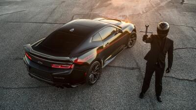 Fotos: The Exorcist Camaro ZL1 by Hennessey