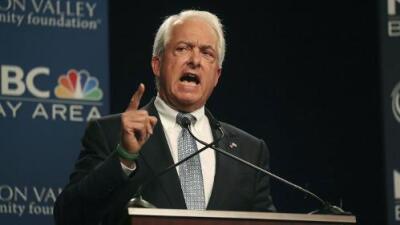 Cómo un empresario republicano a favor del muro avanza en la carrera para gobernador de California