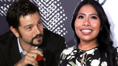 Diego Luna no necesitó ver a Yalitza Aparicio en 'Roma' para darse cuenta del racismo y clasismo en México