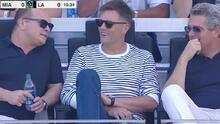 Tom Brady gozó el doblete de Chicharito ante Inter Miami