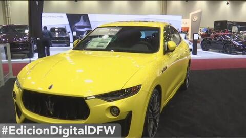 La fiebre por los autos llega a Dallas en el Auto Show