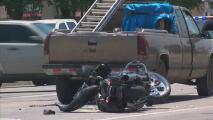 Preparan vigilia para motociclista que murió en accidente en General McMullen Street