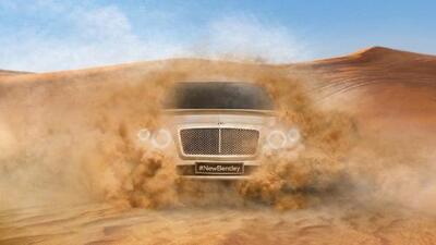 Video Bentley Bantayga 2016
