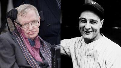 El 'síndrome de Lou Gehrig': la enfermedad que padeció Stephen Hawking y se conoció por el béisbol