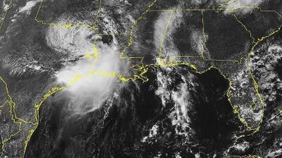 El lento movimiento de Imelda: lo que explica la fuerza de las lluvias que afectan varias áreas de Texas