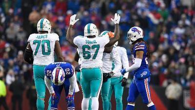 Miami gana de último minuto en final cardiaco a los desahuciados Bills
