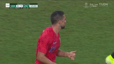 El Team USA intenta sacudirse tras el gol de Uruguay