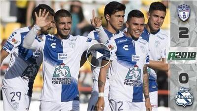 Pachuca 2-0 Puebla - GOLES Y RESUMEN - Jornada 7 Apertura 2018 Liga MX