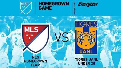 Los canteranos de la MLS se enfrentarán Tigres UANL Sub-20 en el MLS Homegrown Game 2018