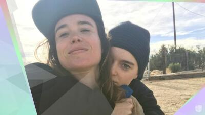 A Ellen Page le bastaron 6 meses para darle el 'sí' a su ahora esposa: esta es su historia de amor