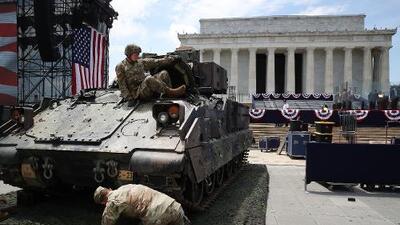 ¿Quién pagará y cuánto cuesta el millonario desfile militar del 4 de julio en Washington DC?