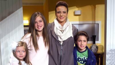 Silvia Navarro se reunió con la 'Tropa Lascuráin' de Mi Corazón Es Tuyo en el cumpleaños de su hijo León