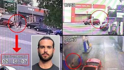 4 minutos, 3 cámaras sincronizadas y 2 conclusiones: la reconstrucción en video del caso Pablo Lyle