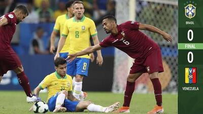 VAR con V de Venezuela: dos goles anulados y Brasil empata ante la 'Vinotinto'