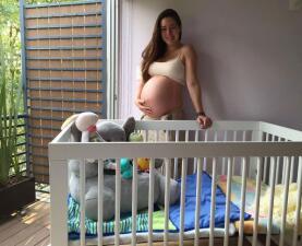 Ariadne Díaz está a un paso de ser mamá