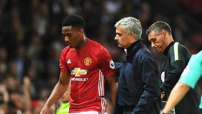 """Mourinho se burla Martial: """"Trabajó lo suficiente para estar en el banquillo"""""""
