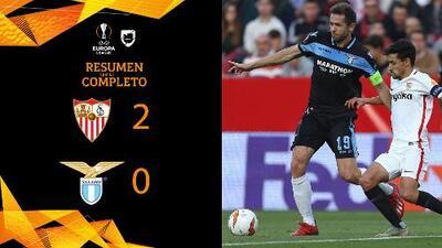 Sevilla 2- 0 Lazio - GOLES Y RESUMEN – VUELTA DIECISEISAVOS DE FINAL – UEFA Europa League