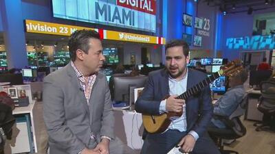 Miguel Siso, el cuatrista venezolano ganador del Latin GRAMMY llega a Miami con un concierto benéfico