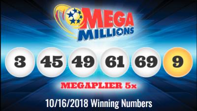 Estos son los números ganadores del mayor pote de la historia del Mega Millions