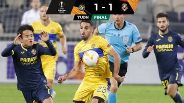 Villarreal deja ir el triunfo ante M. Tel-Aviv en la Europa League