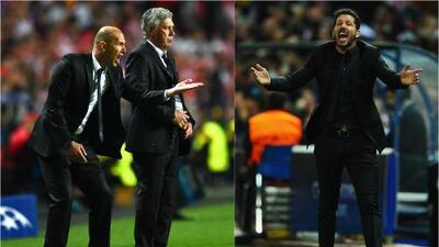 Zidane y Simeone, la elegancia vs. la garra