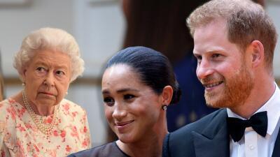 Quienes visitan a la reina Isabel II tienen prohibido hablarle de Harry y Meghan Markle