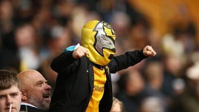 Wolves a la mexicana: los fanáticos del Wolverhampton montaron una previa muy colorida