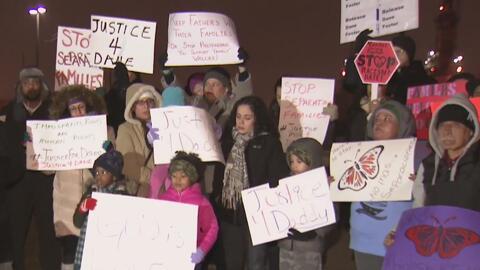Con masiva protesta, piden que liberen a un padre jamaiquino detenido por ICE en Nueva Jersey