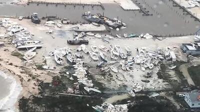 La destrucción que dejó en las Bahamas el paso del huracán Dorian