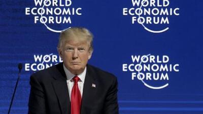 Trump defiende su nacionalismo en Davos, pero vende EEUU como el mejor lugar para los negocios