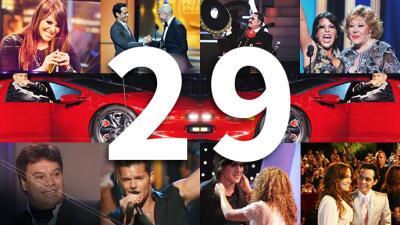 Año por año: estos han sido los 29 momentos más espectaculares de Premio Lo Nuestro