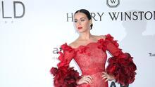 Katy Perry odia vivir lejos de su novio Orlando Bloom