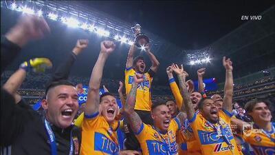 La premiación del campeón del Apertura 2017 de la Liga MX: ¡Tigres!