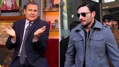 Alan Tacher no comprende por qué Julián tiene la citas con su hijo Matías el día en que está trabajando