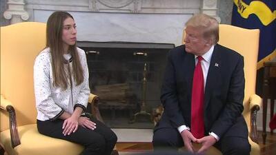 """""""Rusia debe salir de Venezuela"""": Trump en reunión con esposa de Juan Guaidó en la Casa Blanca"""