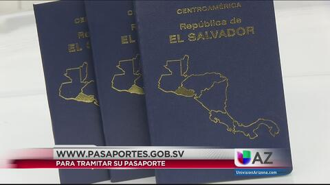Salvadoreños podrán tramitar pasaporte en línea