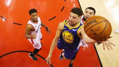 Urge una limpia: Klay Thompson es duda para el Juego 3 de las NBA Finals