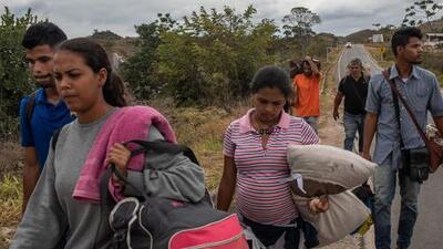 De esconderse en bosques a luchar por sobrevivir: la realidad de los migrantes venezolanos en Latinoamérica