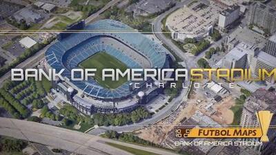 Futbol Maps | Bank of America Stadium