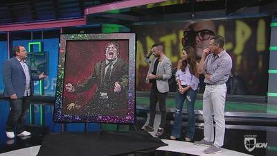 El arte del fútbol: David Garibaldi hizo un homenaje al 'Piojo' Herrera