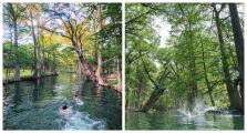 """El centro de Texas es hogar de un lago con """"agua azul brillante"""" y puedes sumergirte por $10"""