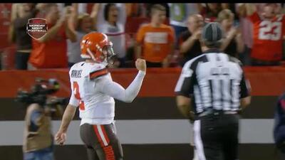 Preseason Week 2: Johnny Manziel highlights